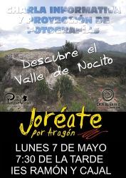 CARTEL CHARLA JOREATE VALLE NOCITO Huesca)